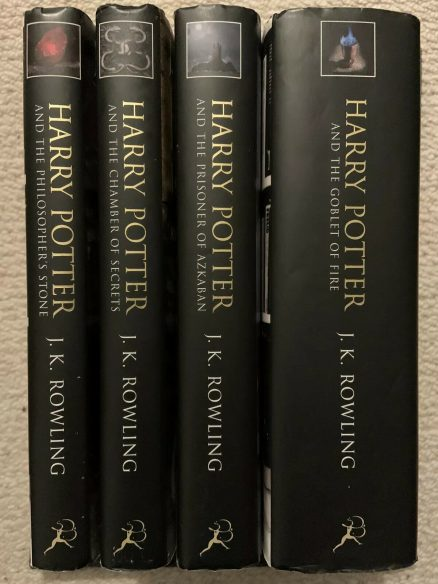 Harry Potter & The Philosopher's Stone - Collection of 1st/1st UK Adult Cover HBs Bloomsbury