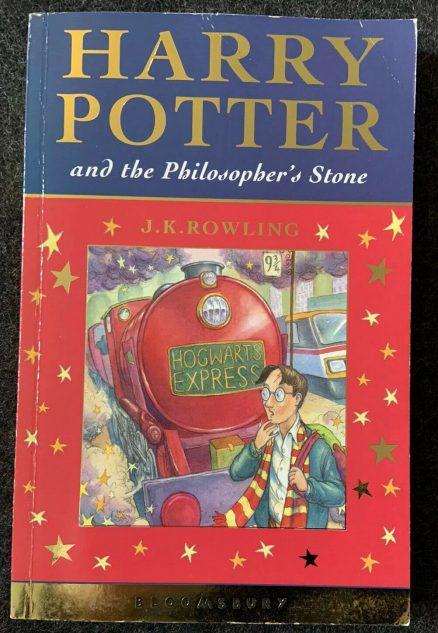 Harry Potter & The Philosopher's Stone - 1st/1st UK - Bloomsbury - J.K. Rowling