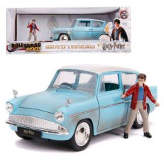 Die-Cast Harry Potter & 1959 Ford Anglia Car Hollywood Rides