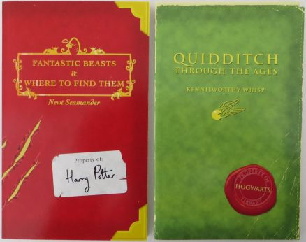 Quidditch Through the Ages & Fantastic Beasts and Where to Find Them