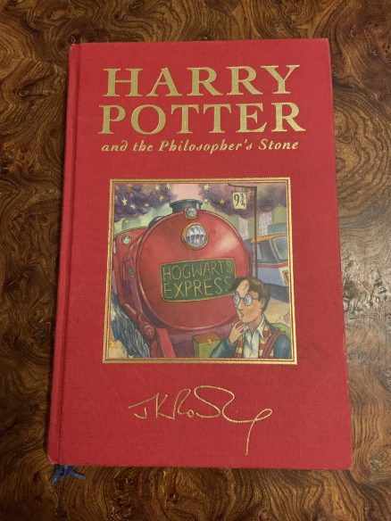 Harry Potter and the Philosophers Stone Deluxe First Print