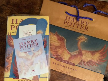 Harry Potter and the Order of the Phoenix First Print Signed with official hologram