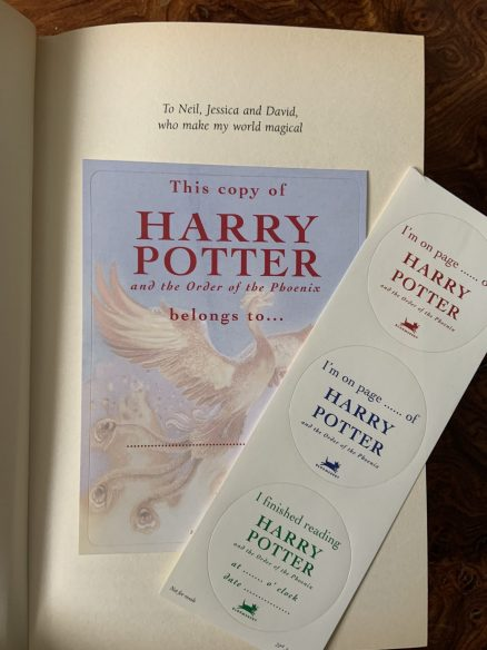 Harry Potter and the Order of the Phoenix First Print