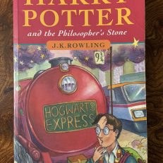 Harry Potter & the Philosophers Stone First Print