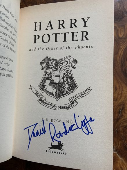 Harry Potter and the Order of the Phoenix Signed First Print