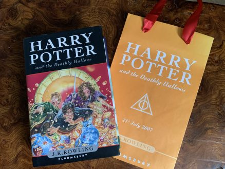 Harry Potter and the Deathly Hallows First Print Hardback