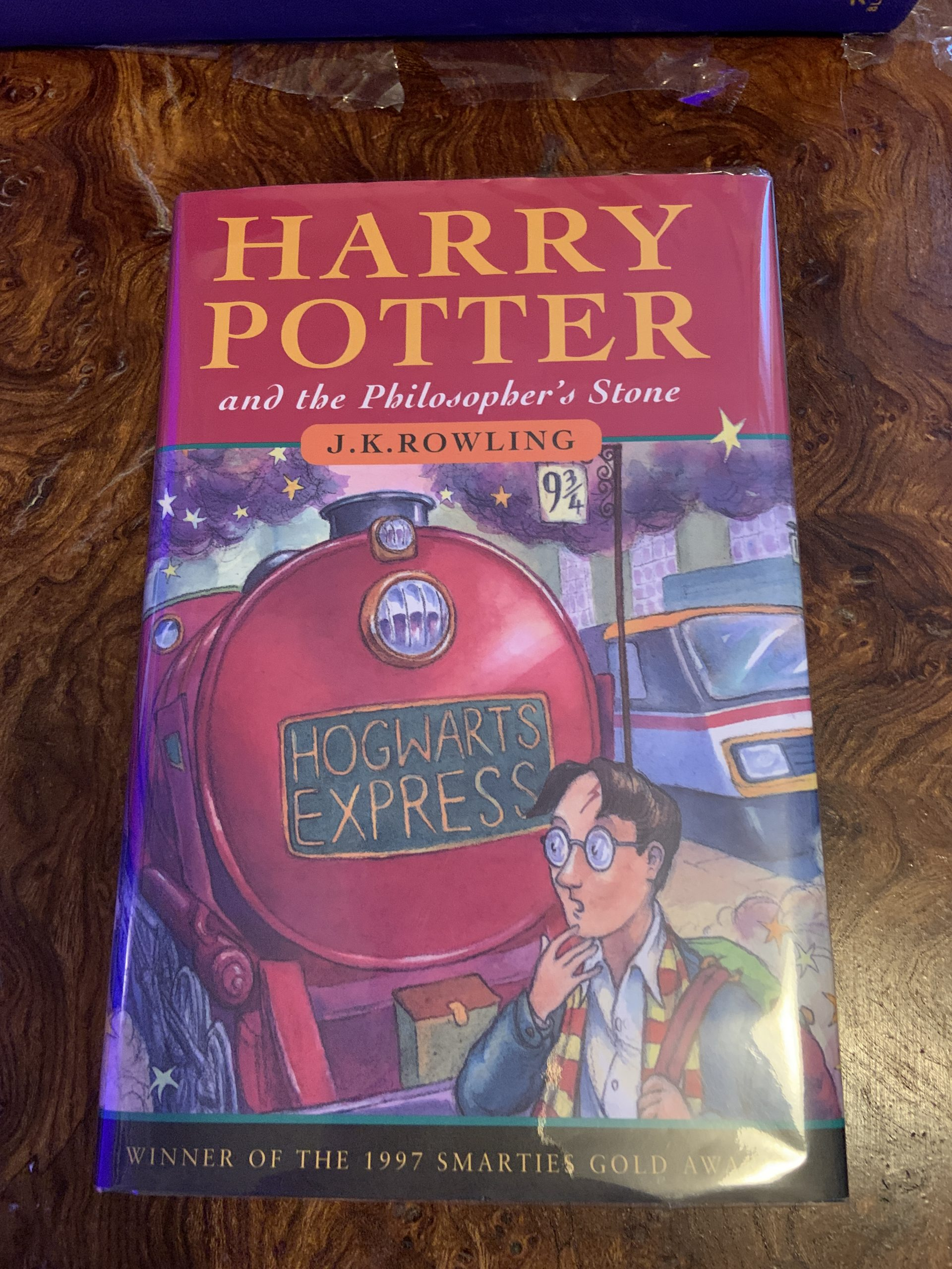 Harry Potter & the Philosopher's Stone Hardback 1st/1st Ted Smart — Harry  Potter Collectables