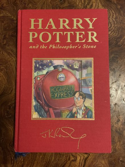 Harry Potter and the Philosophers Stone Deluxe Second Print