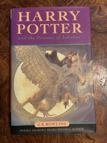 Harry Potter and the Prisoner of Azkaban First Print Hardback