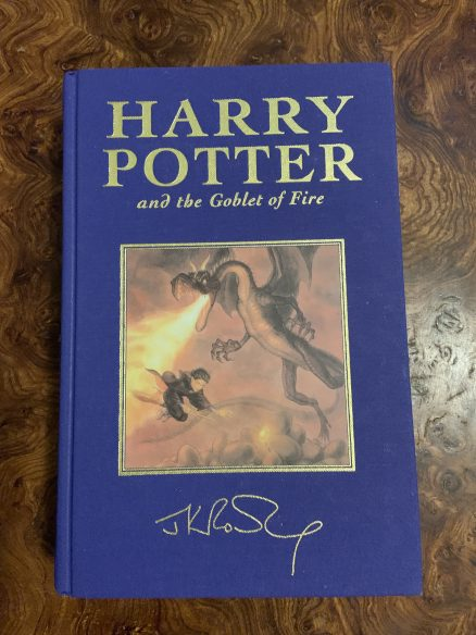 Harry Potter and the Goblet of Fire Deluxe First Edition