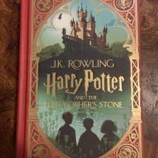 Harry Potter & the Philosopher's Stone Minalima Illustrated Edition