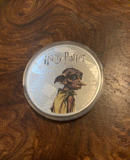 Dobby Silver Plated Coin - Half Dollar - Mint