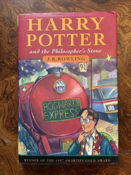 Harry Potter and the Philosopher's Stone SIGNED Gift Set