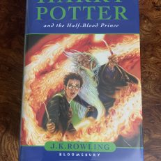 Harry Potter and the Half Blood Prince Signed First Edition