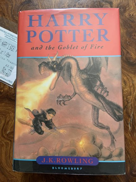 Harry Potter and the Goblet of Fire Signed First Print