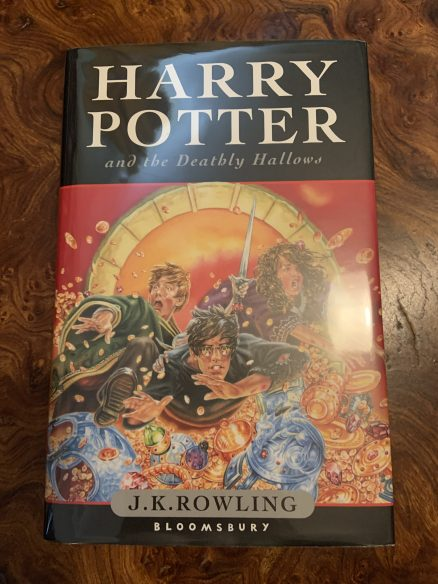 Harry Potter and the Deathly Hallows Signed UK First Print Hardback