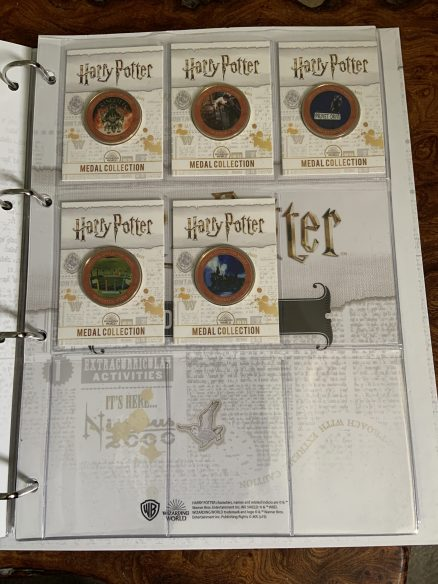 Harry Potter Medal Collection