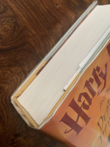 Harry Potter and the Deathly Hallows Signed US First Print Hardback